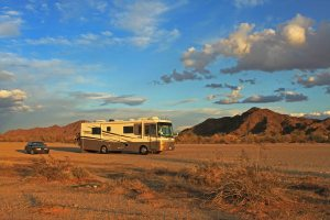 Boondocking near Yuma