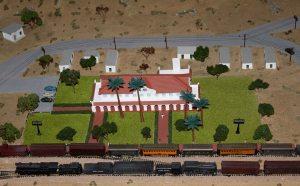 N Scale Depot Model