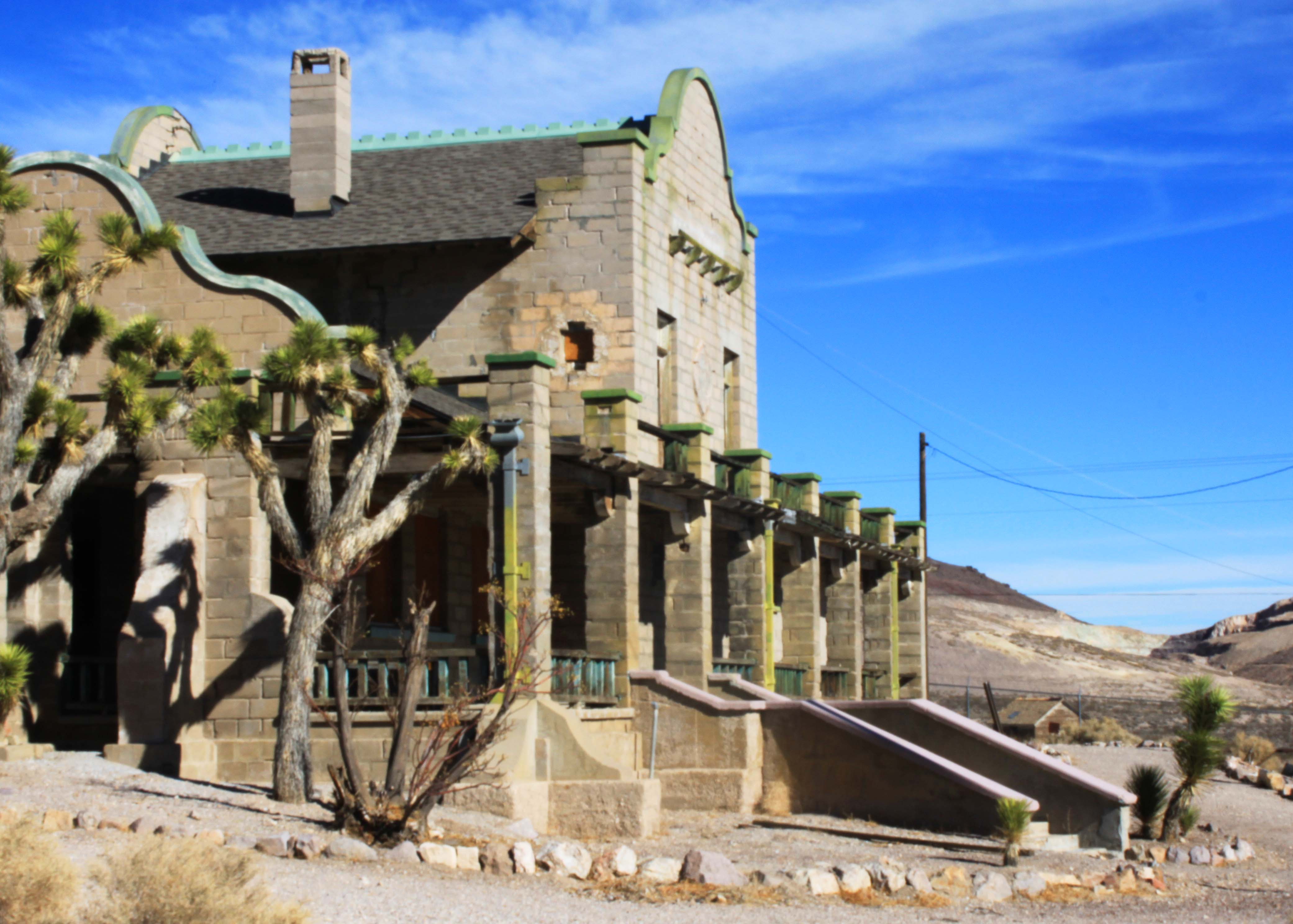 Rhyolite Ghost Town & the Oddity Next To It - American ... |Rhyolite Ghost Town
