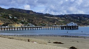 Surfrider Beach and Malibu Pier