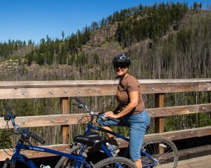 Myra Canyon Trestle Rider