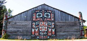Native Tlingit building-Haines