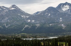 The road to Skagway