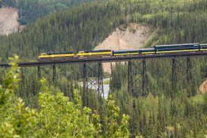 Alaska Railroad Denali Star train