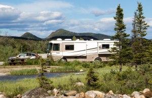 Camping at Summit Lake