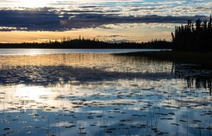Deadman Lake sunset