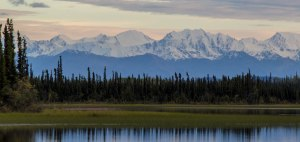 August snow in Wrangell St. Elias National Park