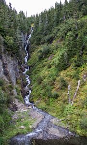 Waterfall on the way to Hyder