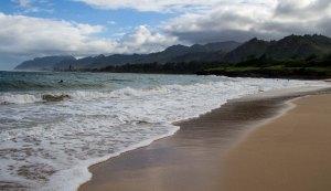 Typical Oahu beach