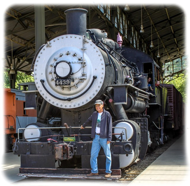 "Randy with 0-6-0 ""Goat"" or Switching locomotive"