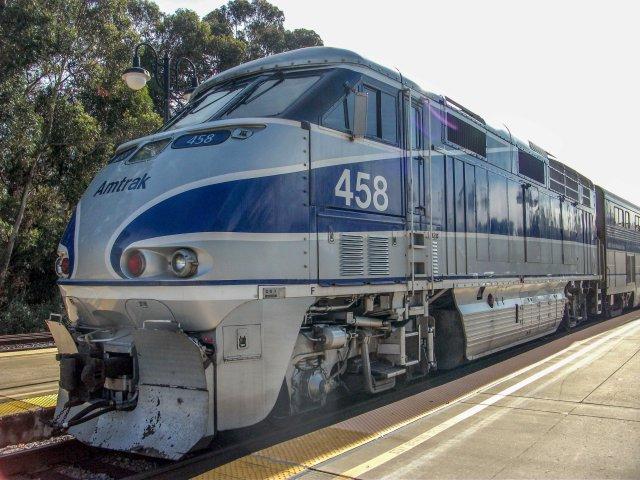 Amtrak F59 Locomotive