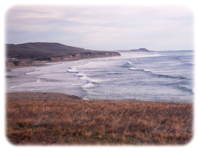 California coast west of Lompoc