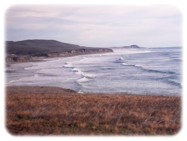 California coast west of Lompoc