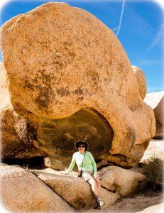Sheltering rock