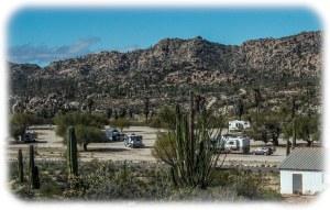Our camp at Rancho Ines near Catavina