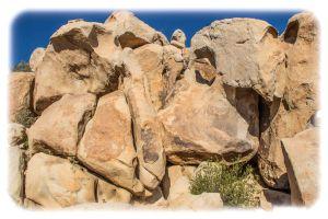 Exotic boulders