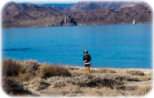 Walking a deserted peninsula