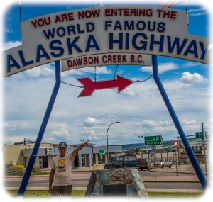Mile Zero-Alaska Highway