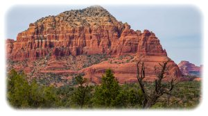 Sedona red rock hiking