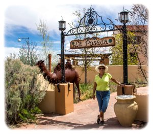 Casual Entrance to La Posada Hotel