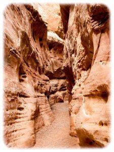 White Domes slot canyon