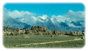 Mt. Whitney and the Sierra Nevada