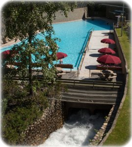 Radium Hot Springs pool and spa