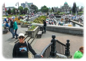 Lovely Victoria waterfront