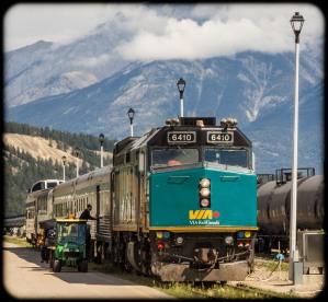 Via Rail tourist train