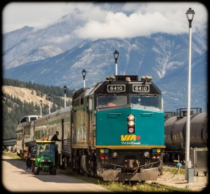 Via Rail tourist train
