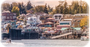 Arriving Friday Harbor