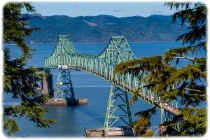 Megler Bridge across the Columbia
