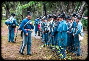 Re-enacting Dade's Brigade