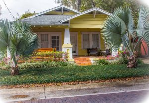 Lakeland has brick streets and colorful bungalows