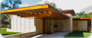 Usonian House was completed in 2013
